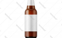 008 Amazing Beer Bottle Label Template Highest Clarity  Free Dimension Word