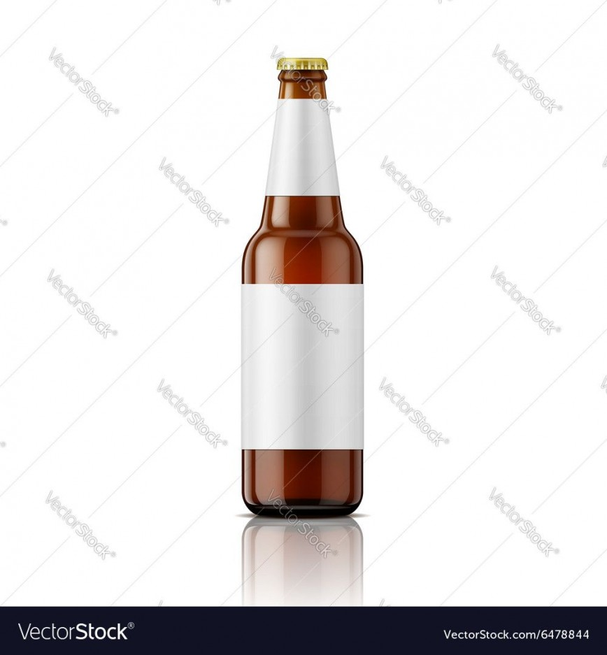008 Amazing Beer Bottle Label Template Highest Clarity  Free Photoshop Word Neck