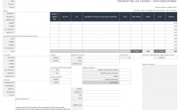 008 Amazing Bill Of Lading Template Excel Idea  Simple House Format In