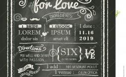 008 Amazing Chalkboard Invitation Template Free Design  Birthday Download