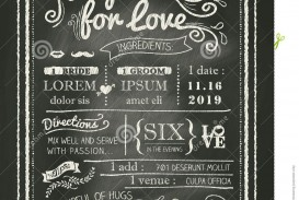 008 Amazing Chalkboard Invitation Template Free Design  Download Birthday