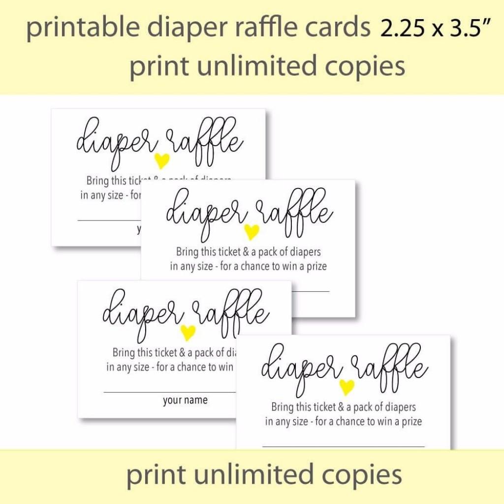 008 Amazing Diaper Raffle Ticket Template Design  Boy Free Printable Print Black And WhiteLarge
