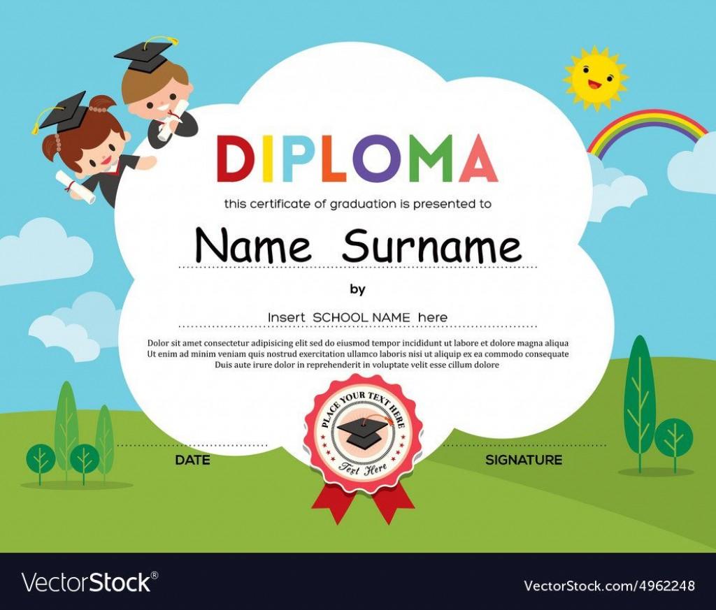 008 Amazing Free High School Diploma Template Pdf Photo Large
