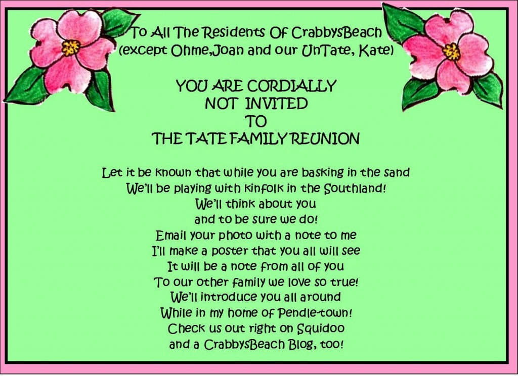 008 Amazing Free Printable Family Reunion Invitation Template Concept  Templates FlyerLarge