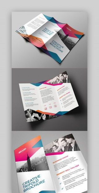 008 Amazing Indesign Trifold Brochure Template Picture  Tri Fold A4 Bi Free Download320