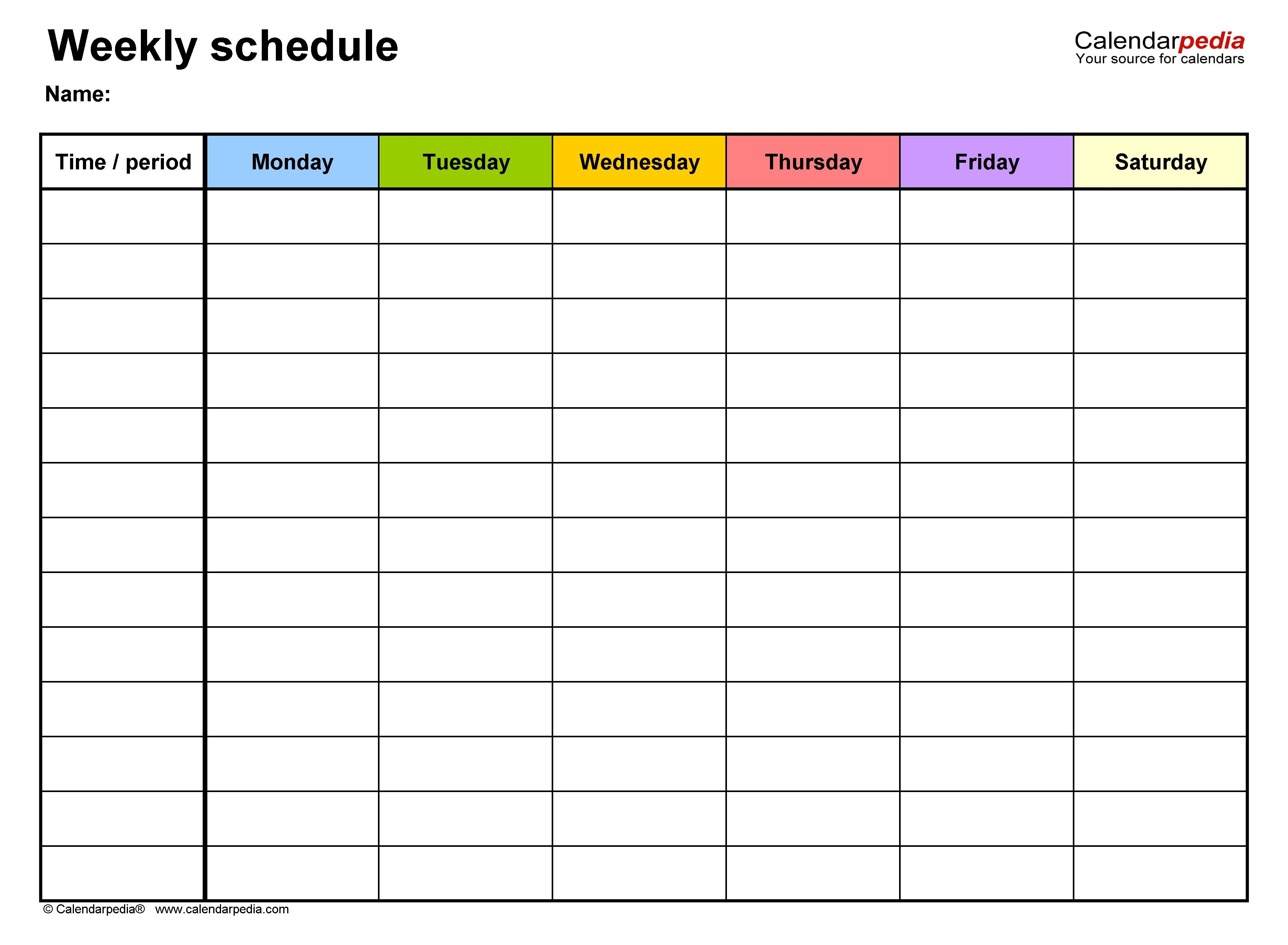 008 Amazing Microsoft Excel Schedule Template Image  Calendar 2019 Yearly 2020 ConstructionFull