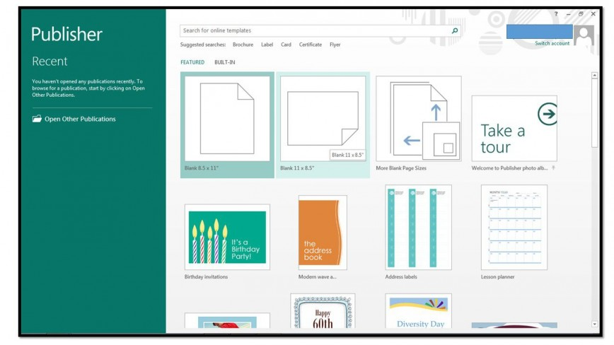 008 Amazing Microsoft Publisher Template Free Download Photo  M Website Certificate868