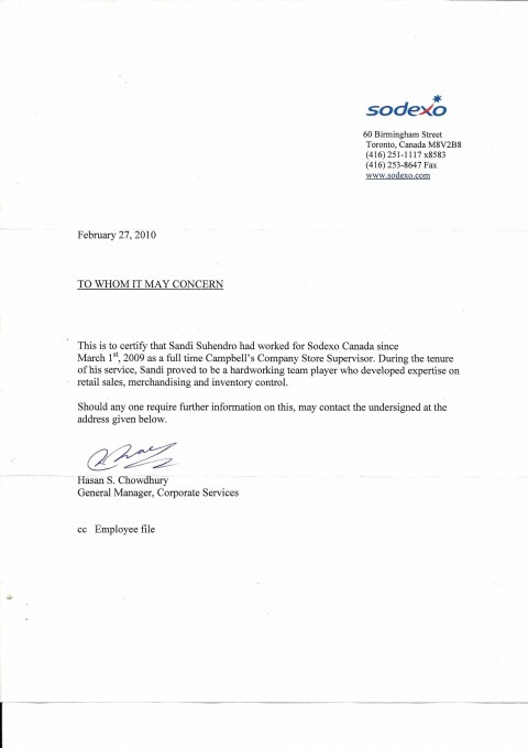 008 Amazing Proof Of Employment Letter Template Canada Picture  Confirmation480