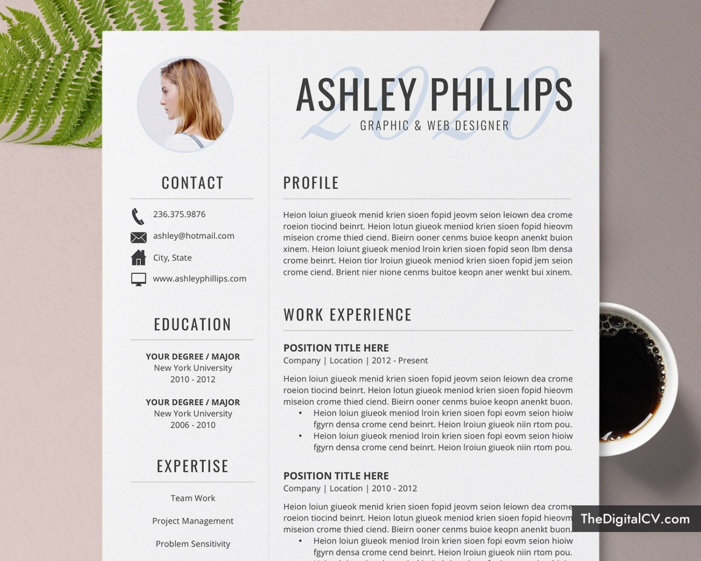 008 Amazing Resume Template M Word 2020 Highest Clarity  Free Microsoft1400