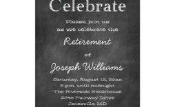 008 Amazing Retirement Invitation Template Free Concept  Party Word Download