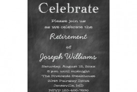 008 Amazing Retirement Invitation Template Free Concept  Party Printable For Word