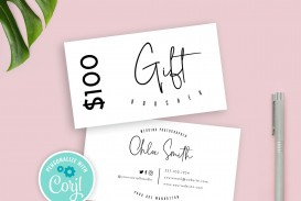 008 Amazing Salon Gift Certificate Template Sample
