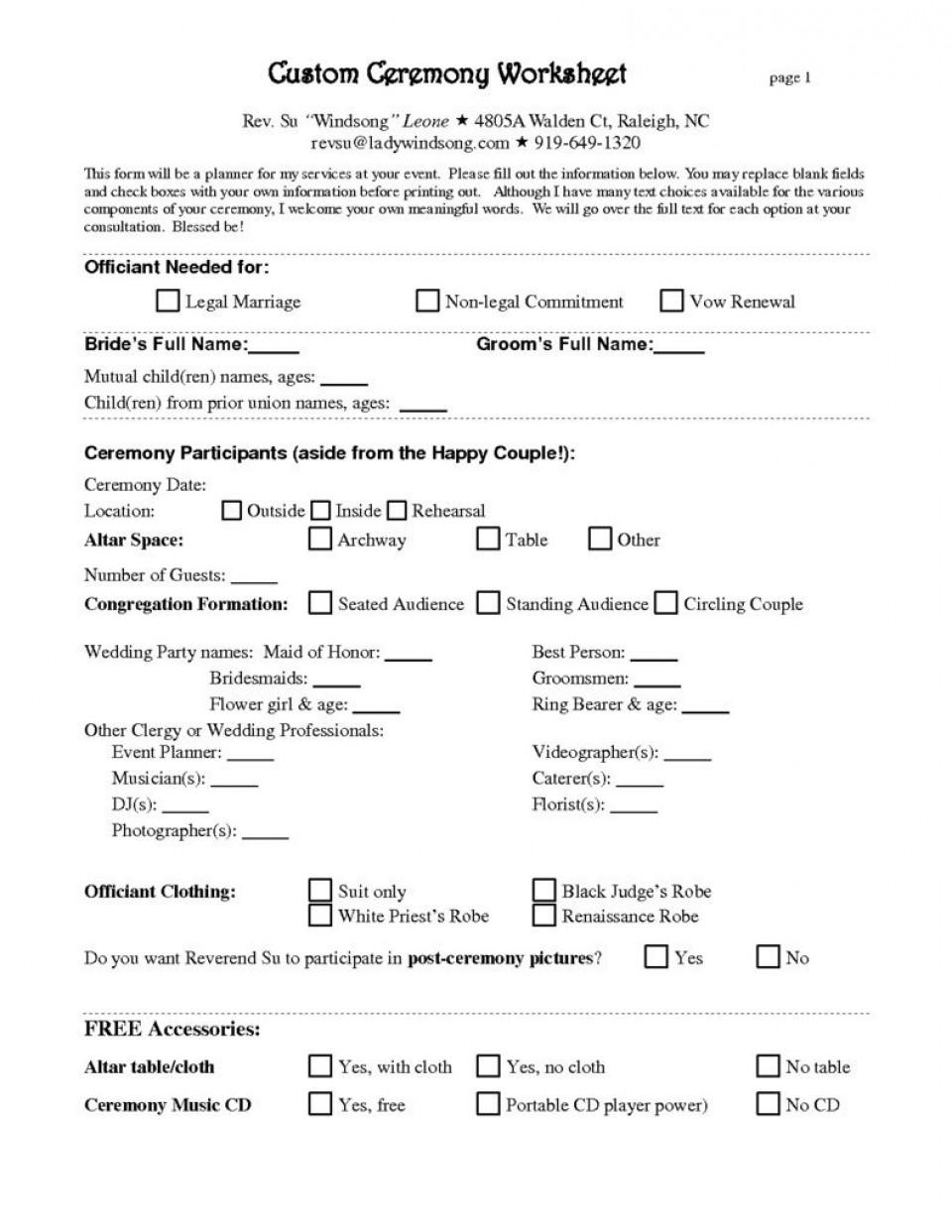 008 Amazing Wedding Planner Contract Template Concept  Uk Australia960