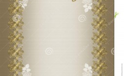008 Archaicawful 50th Wedding Anniversary Invitation Template Free Download Concept  Golden