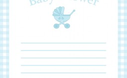 008 Archaicawful Baby Shower Template Word Highest Quality  Printable Search Free Invitation