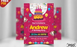 008 Archaicawful Birthday Card Template Photoshop Photo  Greeting Format 4x6 Free