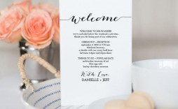 008 Archaicawful Destination Wedding Itinerary Template Idea  Welcome Letter And Sample Free