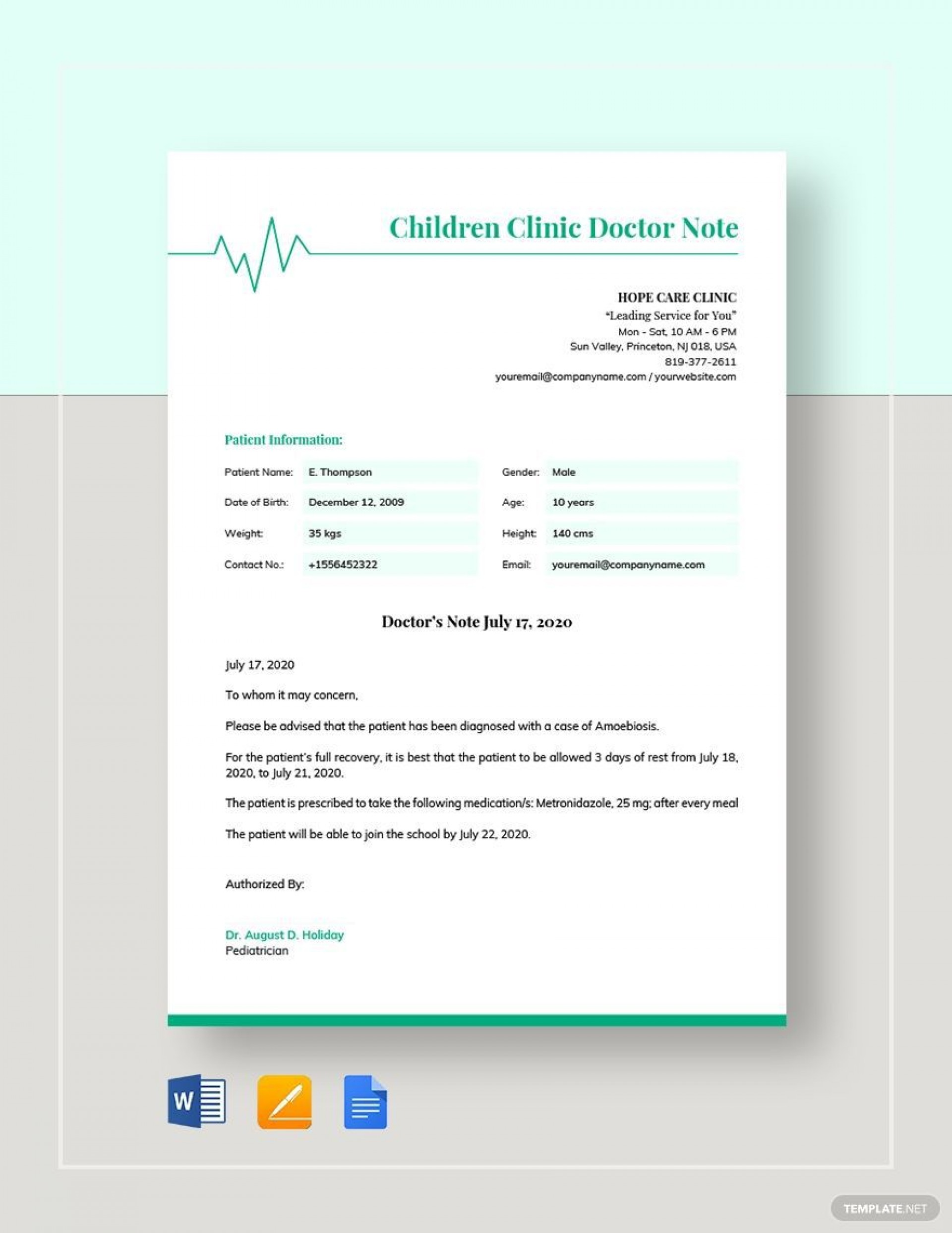 008 Archaicawful Doctor Note Template Word High Def  Fake Document For Work1920