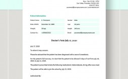 008 Archaicawful Doctor Note Template Word High Def  Fake Document For Work