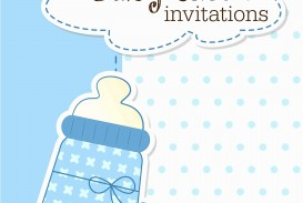 008 Archaicawful Free Baby Shower Invitation Template Idea  Printable For A Girl Microsoft Word