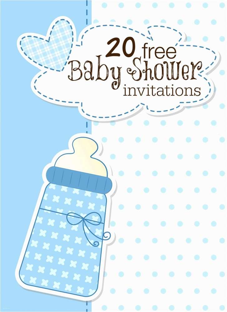 008 Archaicawful Free Baby Shower Invitation Template Idea  Printable For A Girl Microsoft Word728