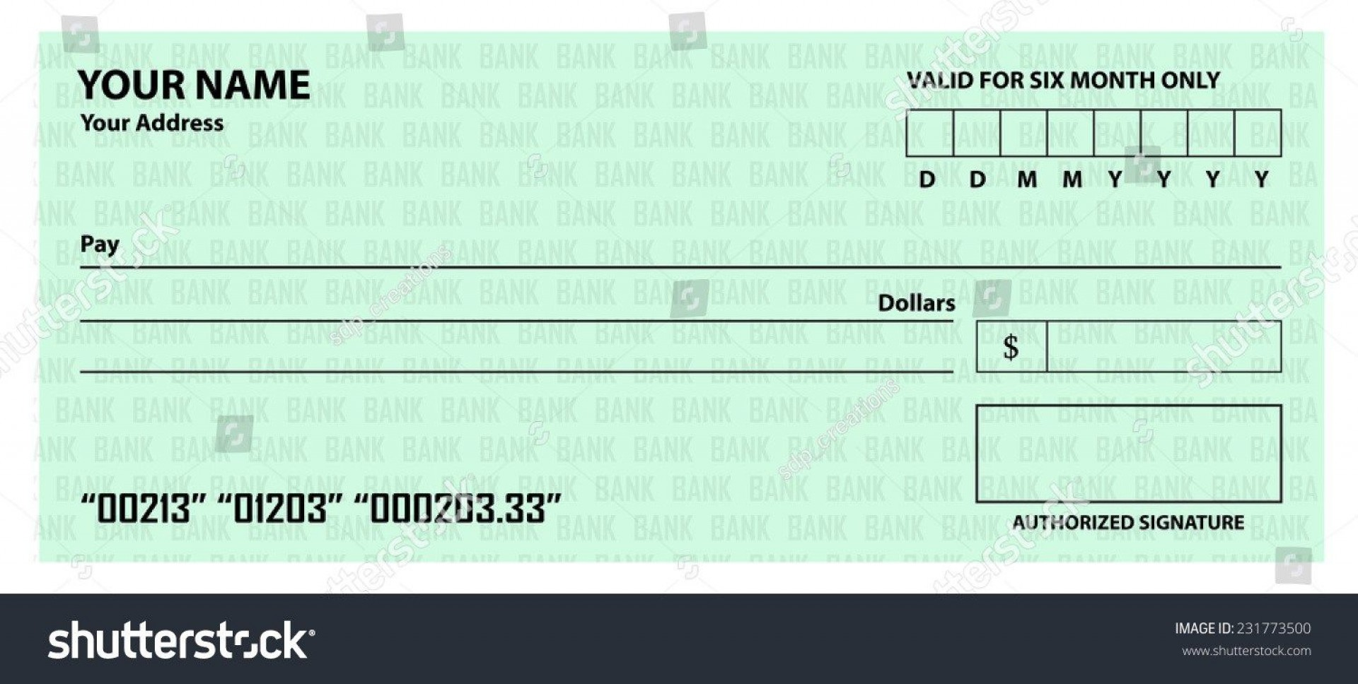 008 Archaicawful Free Blank Check Template Pdf Example  Fillable Printable1920