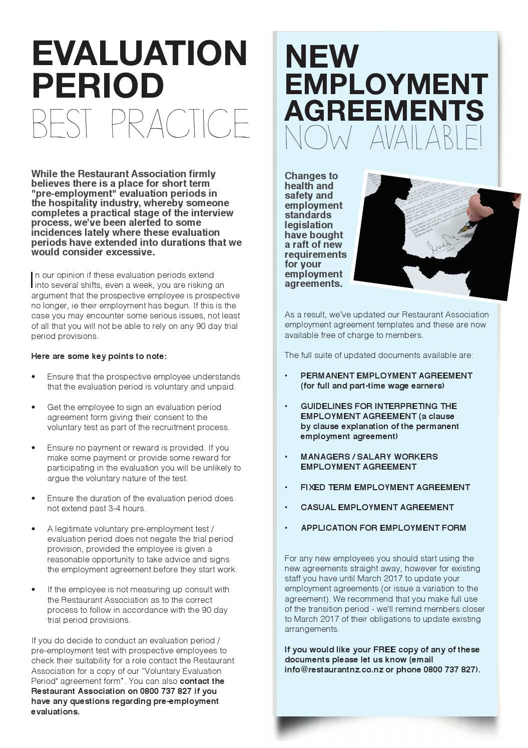 008 Archaicawful Free Casual Employment Contract Template Nz Design Full