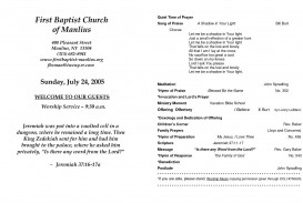 008 Archaicawful Free Church Program Template Word Highest Quality  Bulletin For