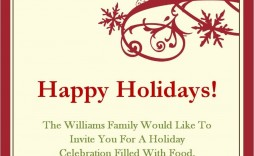 008 Archaicawful Free Email Holiday Party Invitation Template Inspiration  Templates Christma