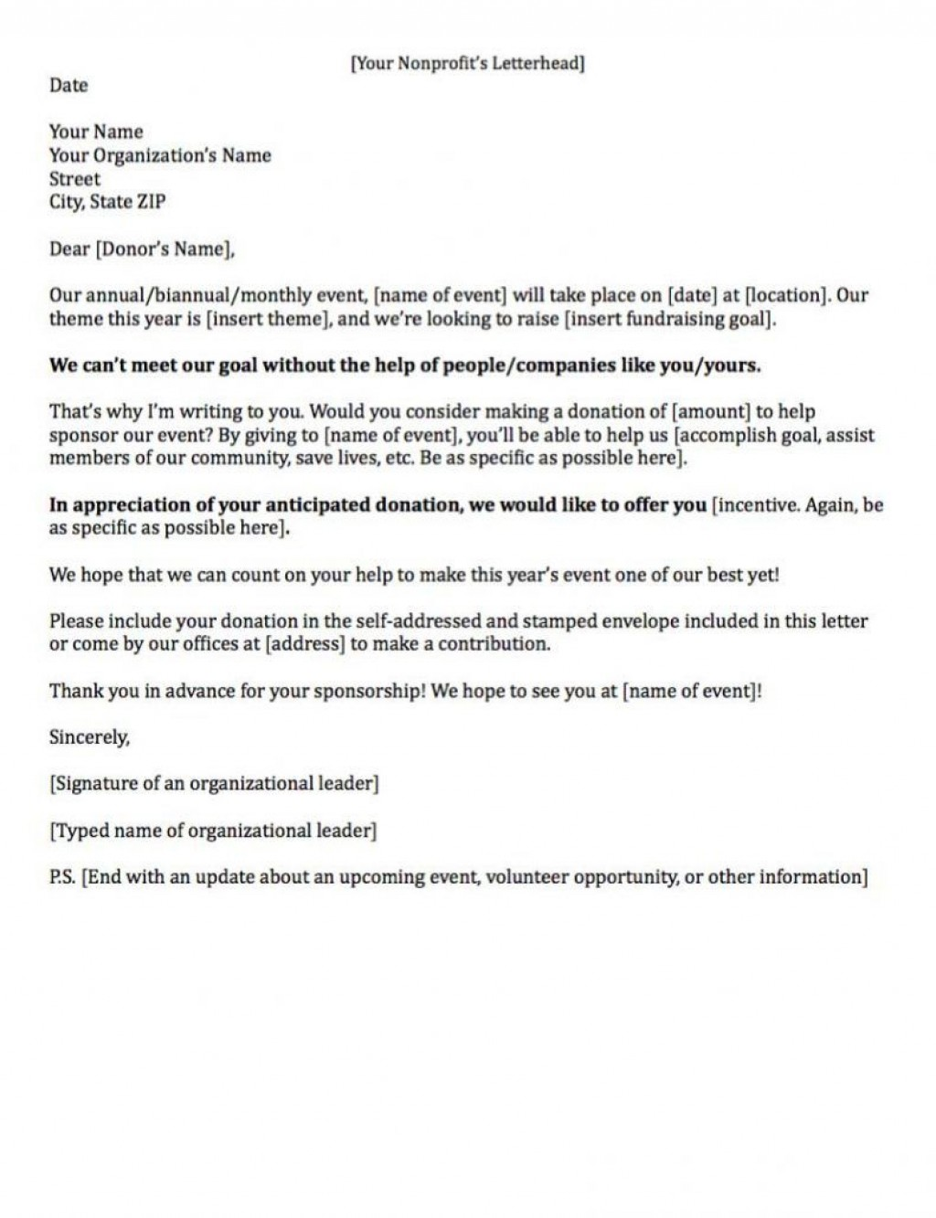 008 Archaicawful Fund Raising Letter Template Idea  Templates Example Of Fundraising Appeal For Mission Trip UkLarge