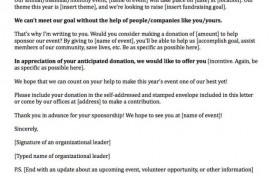 008 Archaicawful Fund Raising Letter Template Idea  Fundraising For Mission Trip School Sample Of A Nonprofit Organization