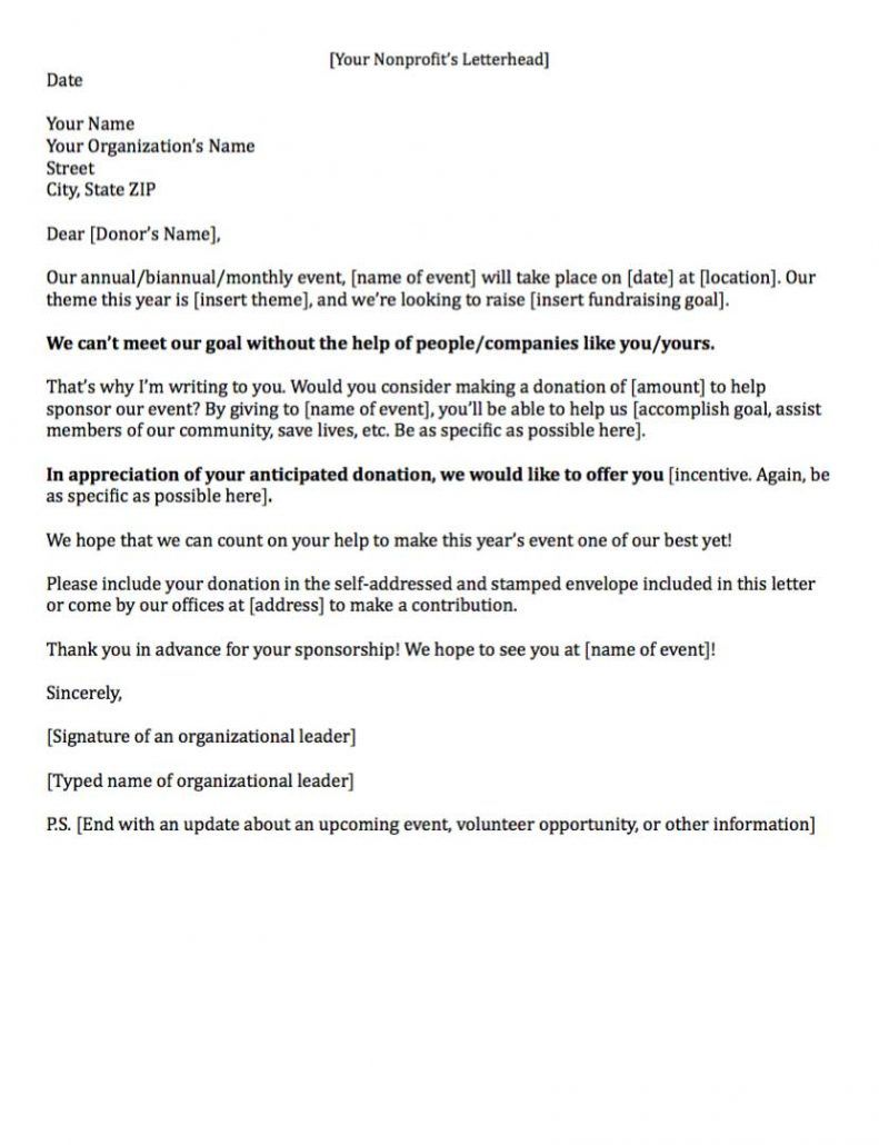 008 Archaicawful Fund Raising Letter Template Idea  Templates Example Of Fundraising Appeal For Mission Trip UkFull