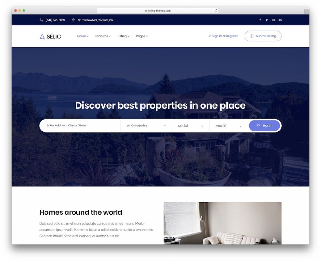 008 Archaicawful Real Estate Agent Website Template Photo  Templates Agency Responsive Free Download Company WebLarge
