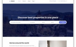 008 Archaicawful Real Estate Agent Website Template Photo  Templates Agency Responsive Free Download Company Web