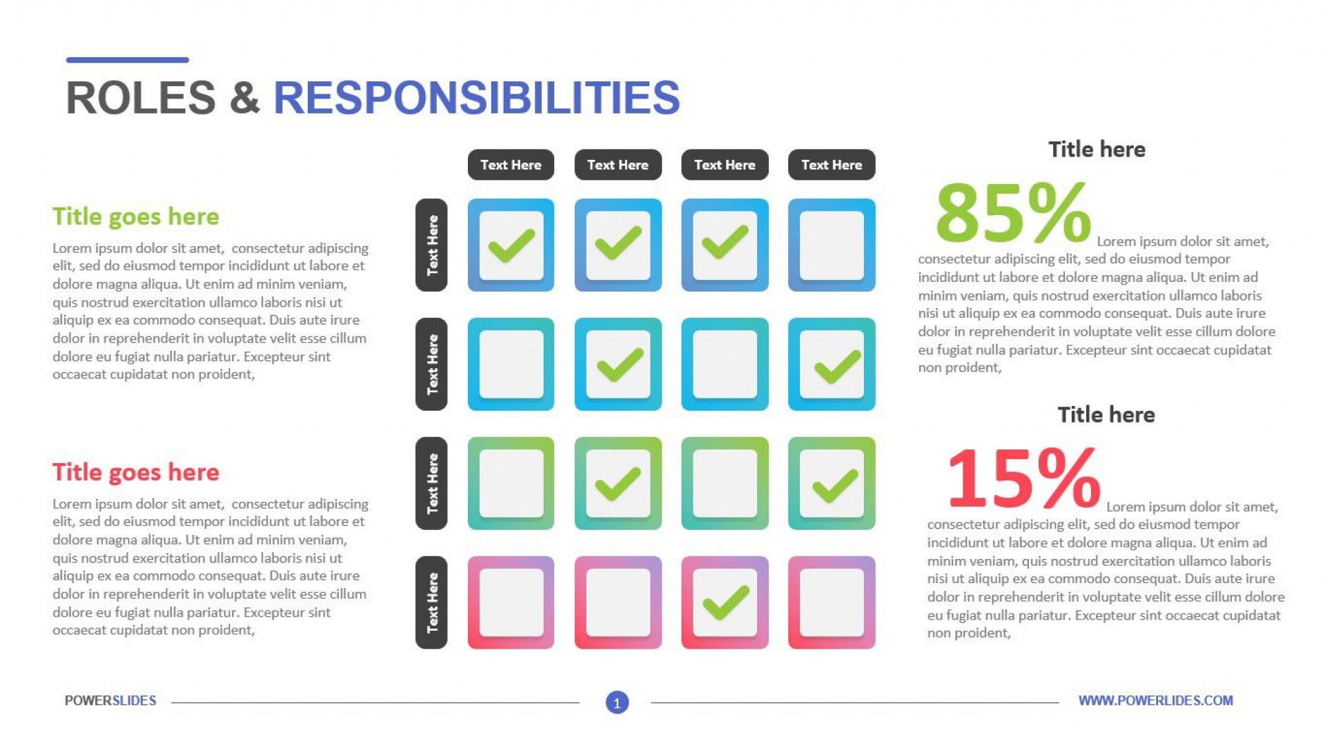 008 Archaicawful Role And Responsibilitie Matrix Template Powerpoint Highest Clarity 1920