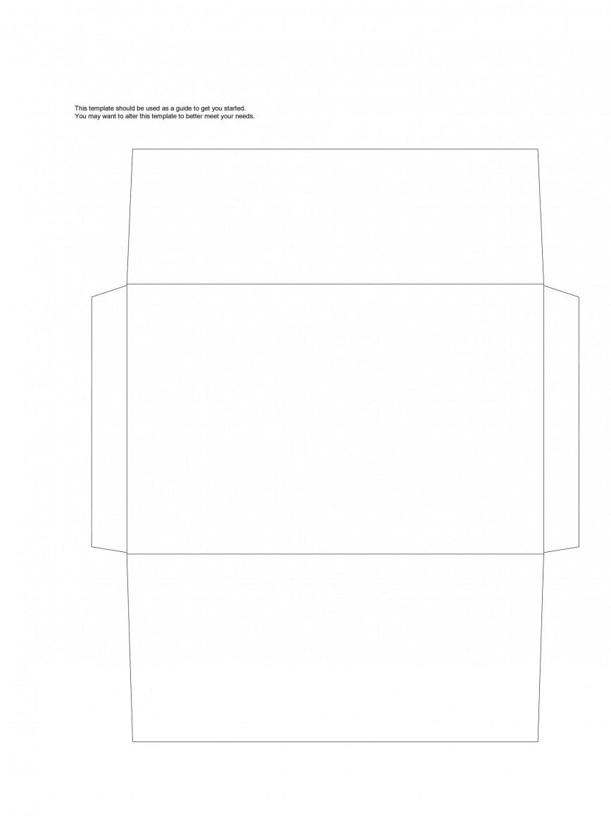 008 Astounding 10 Envelope Template Word Sample  Microsoft Size #10 2010