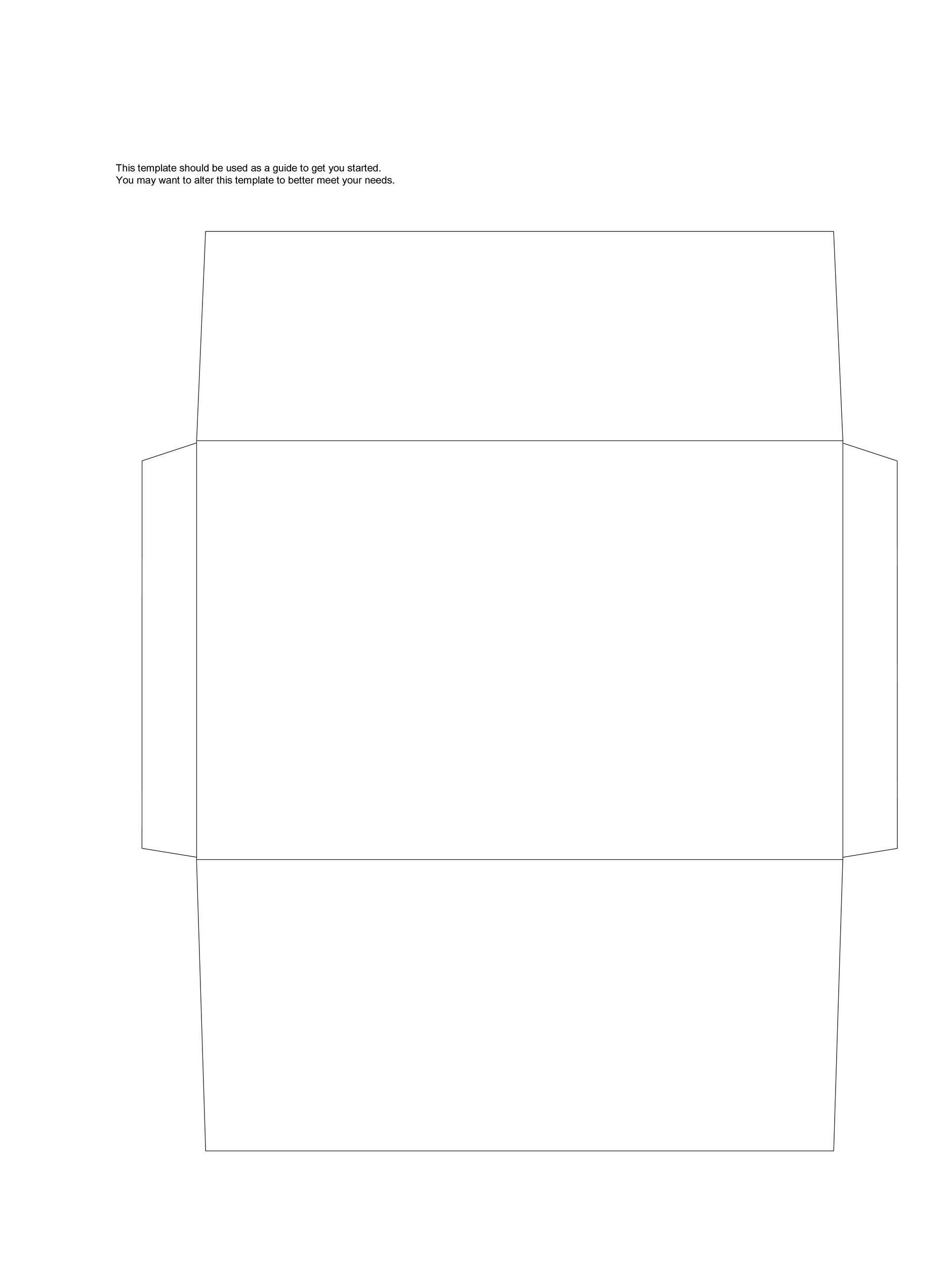 008 Astounding 10 Envelope Template Word Sample  Size Microsoft #10 Double WindowFull