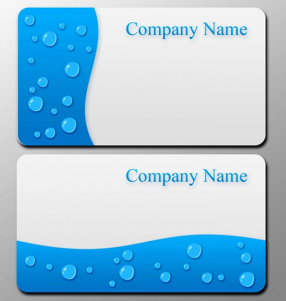 008 Astounding Blank Busines Card Template Photoshop Image  Free Download Psd960
