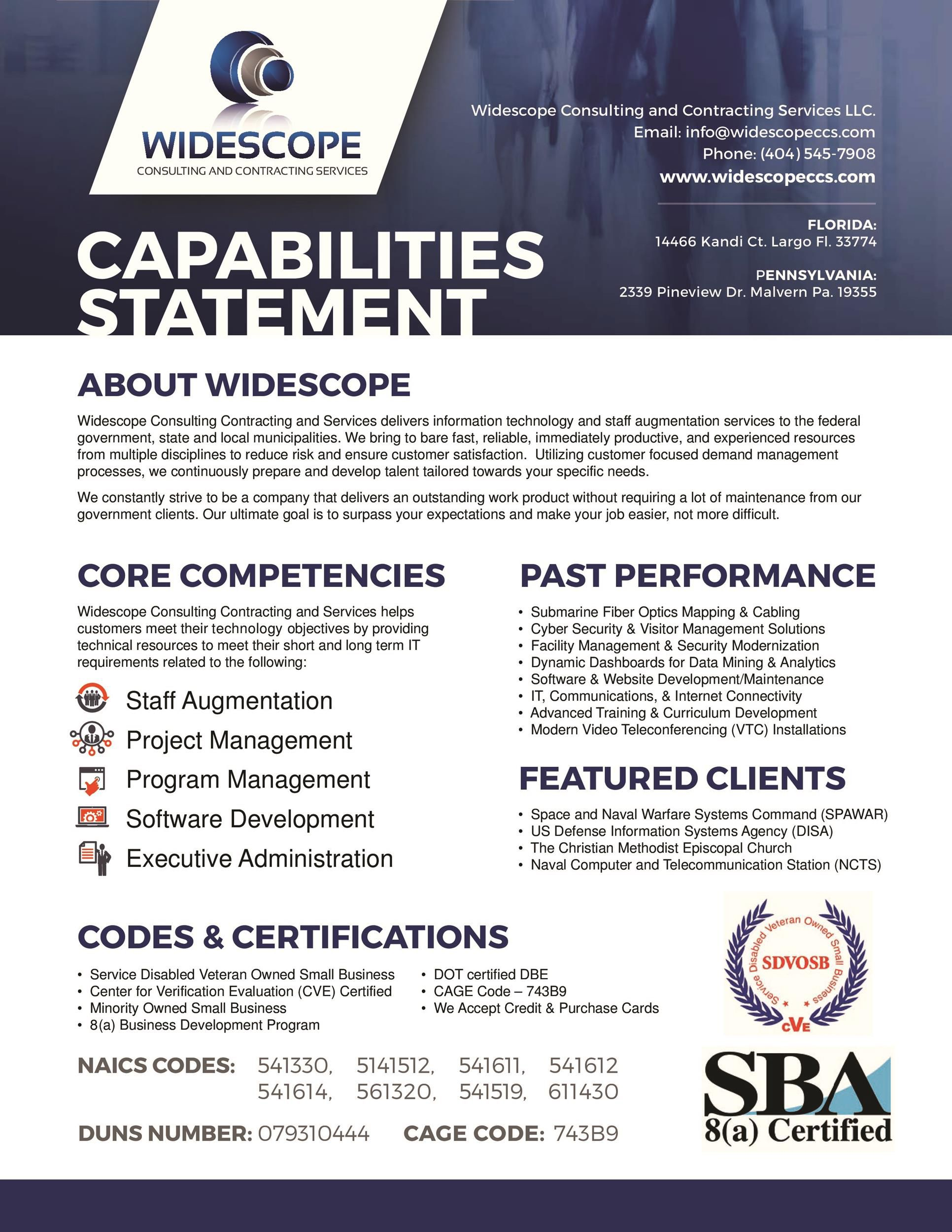 008 Astounding Capability Statement Template Word Doc Photo  Document FreeFull