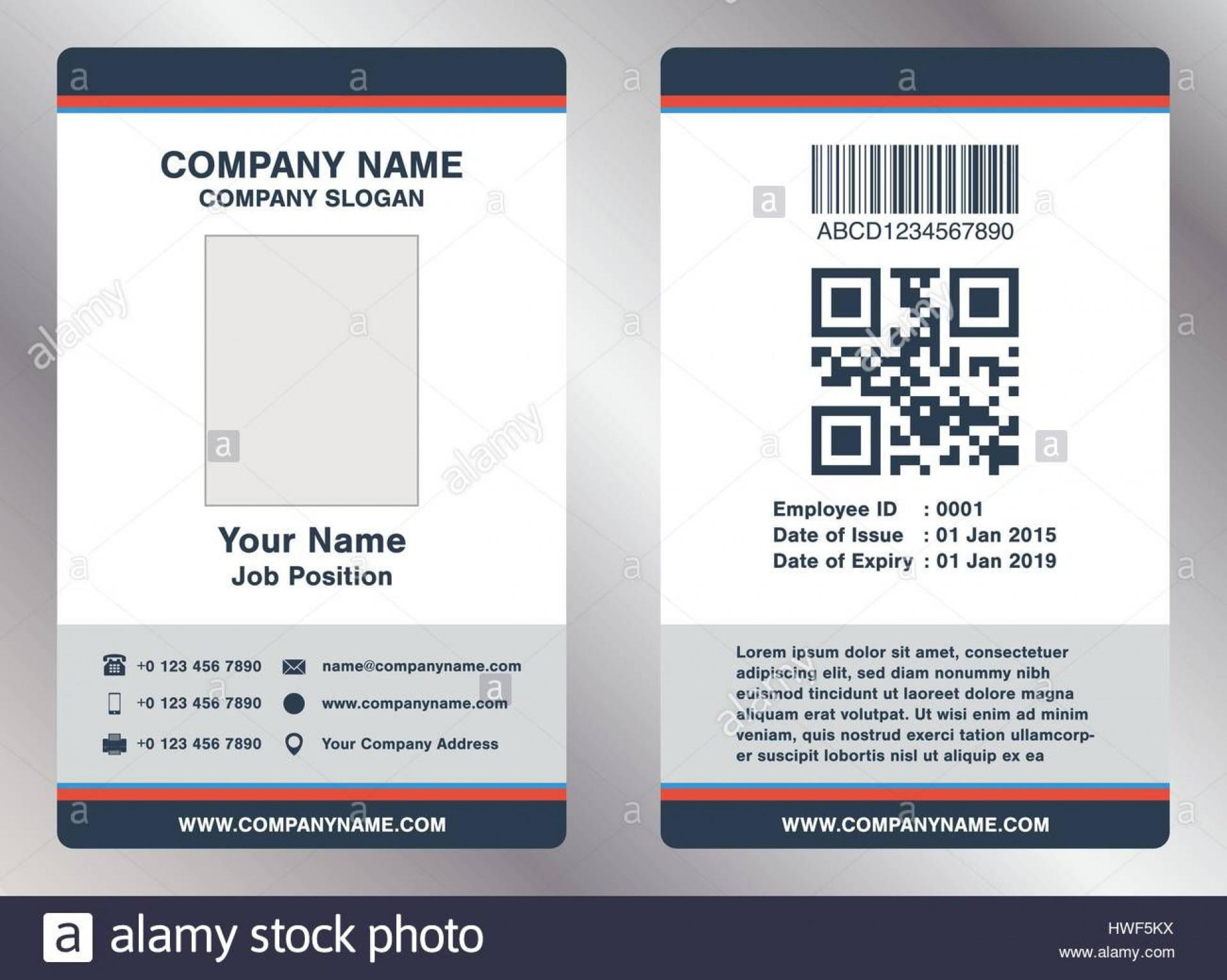 008 Astounding Employee Id Badge Template Picture  Avery Card Free Download Word1920