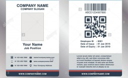 008 Astounding Employee Id Badge Template Picture  Avery Card Free Download Word