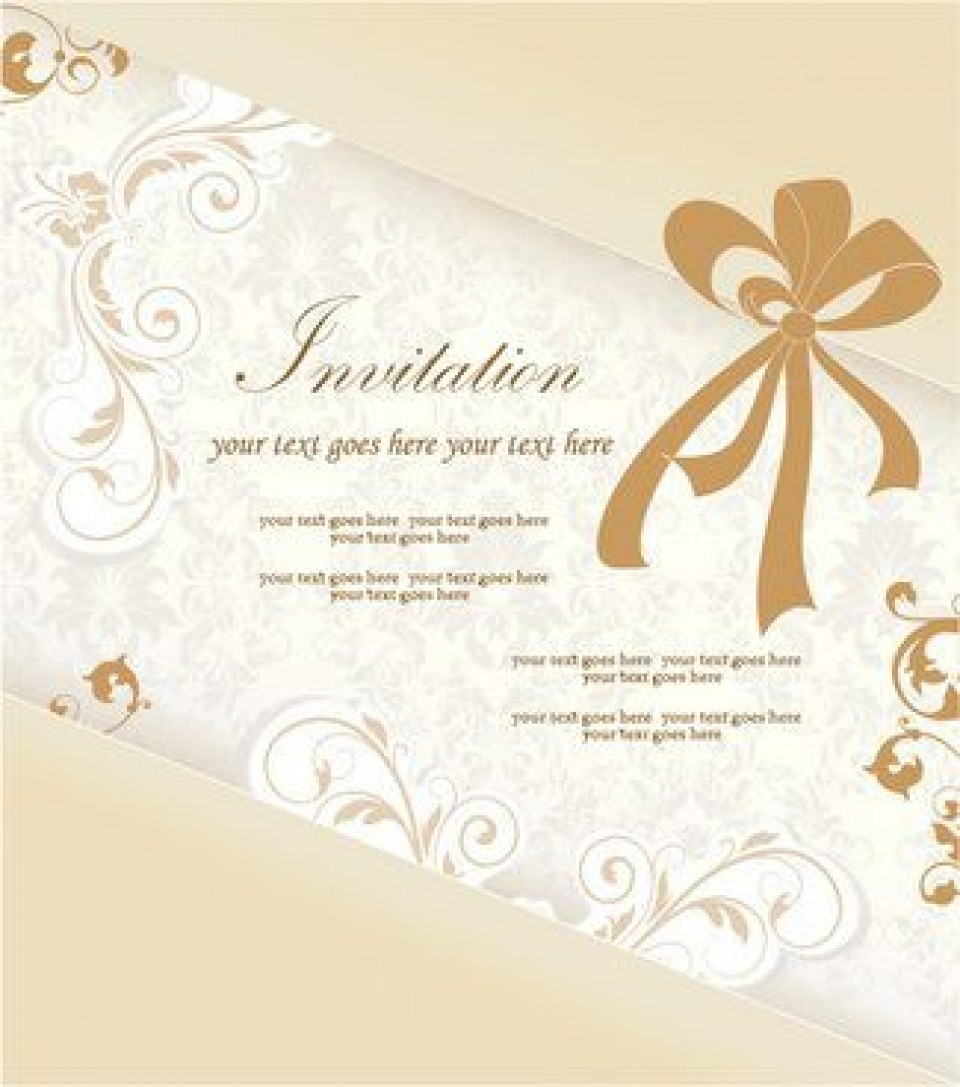 008 Astounding Free Download Invitation Card Design Concept  Birthday Party Blank Wedding Template Software960