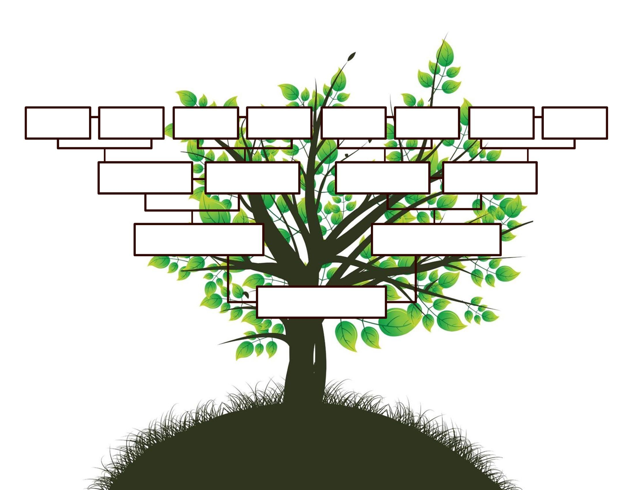 008 Astounding Free Editable Family Tree Template Inspiration  Templates Pdf Powerpoint With PhotoFull