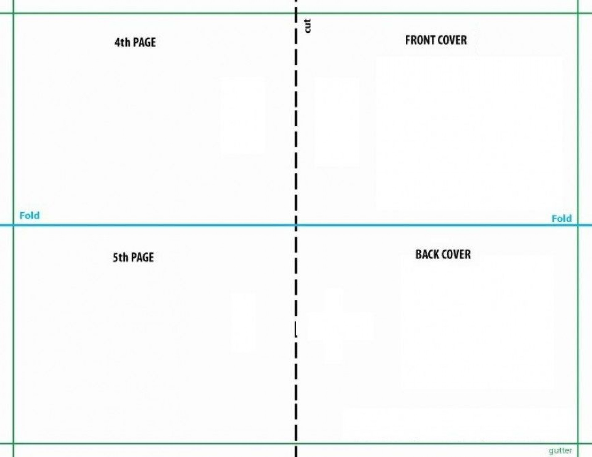 Free Quarter Fold Christmas Card Template ~ Addictionary