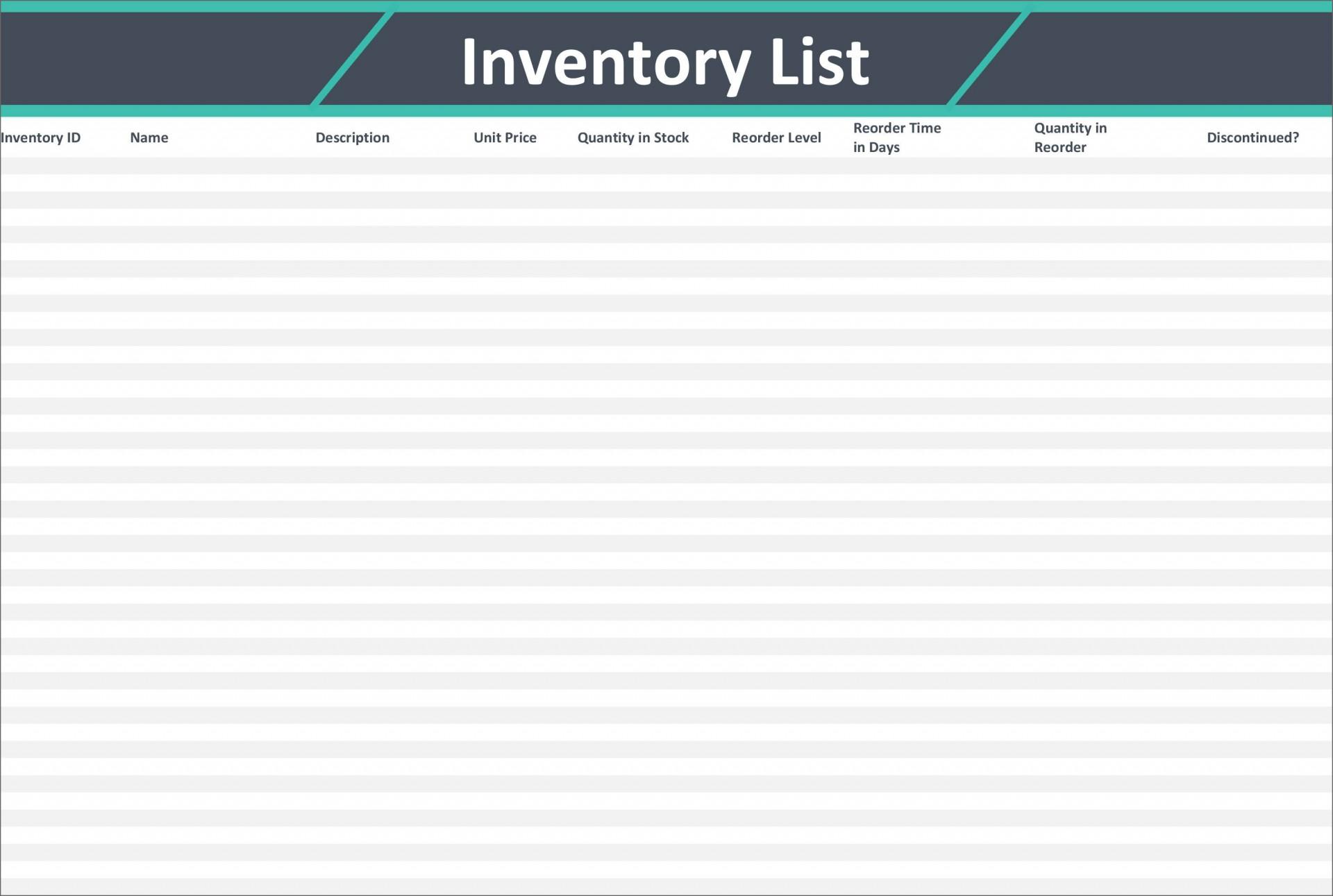 008 Astounding Free Stock Inventory Spreadsheet Template Design 1920