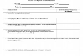 008 Astounding Lesson Plan Template For Kindergarten Common Core Example