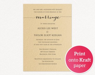 008 Astounding Printable Wedding Invitation Template Example  Free For Microsoft Word Vintage320