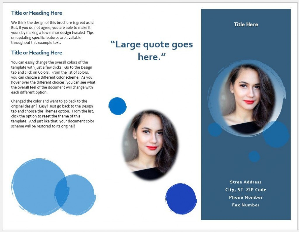 008 Awesome Brochure Template Microsoft Word Free Tri Fold Inspiration  Blank For 2010 DownloadLarge