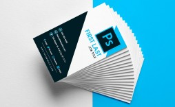 008 Awesome Busines Card Template Psd High Resolution  Professional Photographer Freebie Visiting File Free Download