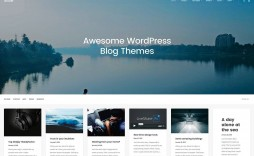 008 Awesome Free Blog Template Wordpres Example  Wordpress Best Travel Theme Food 2020